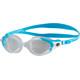 speedo Futura Biofuse Flexiseal Okulary pływackie Kobiety szary/turkusowy